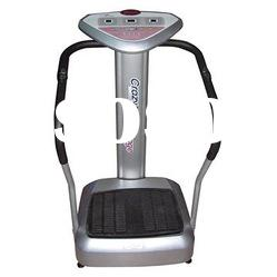 Whole body vibration machine crazy fit massager with LCD display