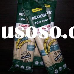 Whole wheat organic noodles