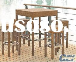 Wicker Furniture A Set bar table (FP0048)