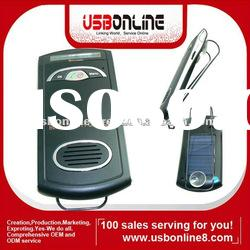 With Voice dial,phonebook,TTS Solar Panel bluetooth handsfree car kit