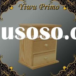 Wooden Storage Chest with 3 Drawers