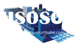 XS840 trapezoidal sheet glazed tile roll forming machine