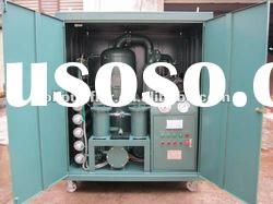 ZYD Series High Vacuum Transformer Oil Treatment/ Oil Purification System With 3000 LPH