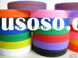 best promotion gift cheap custom silicone bracelets