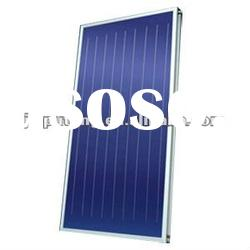 black frame solar panel collector for heating the water