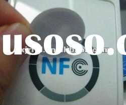 blank NFC tag round PVC Rfid label sticker tag 3M glue water proof