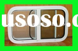 caravan parts Durable and Refined aluminum arc sliding window