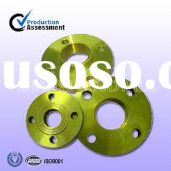 carbon steel yellow forged flanges manufacture