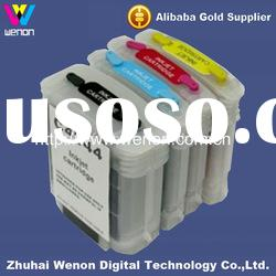 color inkjet ink cartridge for HP Designjet 800/800ps inkjet ciss ink cartridge