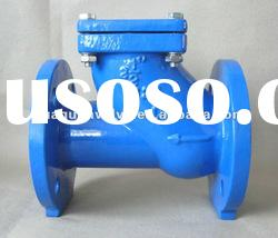 elastic seat ball check valves with flanged end
