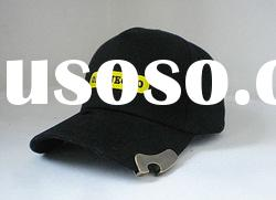 embroidery caps and hats/5 panels hats/bottle opener caps and hats