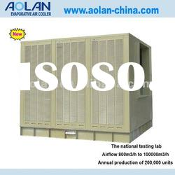 evaporative cooler has the biggest airflow 80000m3/h industrial air conditioner