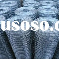 factory supply low carbon steel welded wire mesh
