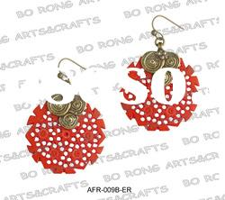 fashion resin stone jewelry earring