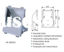 flood light metal halide lamp, 70w,150w die cast aluminum , temperd glass diffuser outdoor lights
