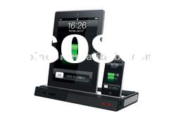for iPad/iPhone/Android charging Docking Station with Speakers