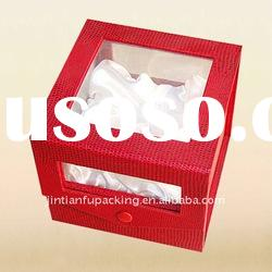 gift packaging boxes with window