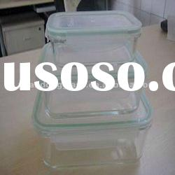 high borosilicate glass home appliance glass food container