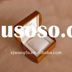 high gloss finish solid wood watch packing box