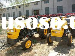 hot sale 25hp,30hp,35hp small tractor with mower,front end loader .backhoe,trailer,plough