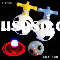 led flashing light laser top with music