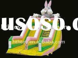 lovely and interesting rabbit cheap inflatable water slides for sale