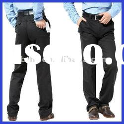 men's business and casual straight pants