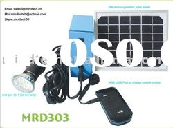 mini solar light(with USB to charge mobile phone )
