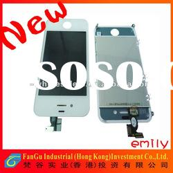 original high quality for iphone 4 lcd screen and digitizer glass full assembly on sale