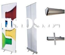 roll up stand,pull up banner,roll up