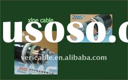 steel tape or steel wire armored power cable with XLPE insulation