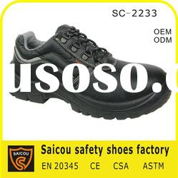 steel toe security work shoes factory (SC-2233)