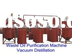 supply ZSA used lubricant oil recycling machine/black oil distillation plant/base oil machine