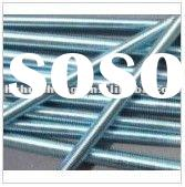 tensile strength threaded rod,zinc plated threaded rod