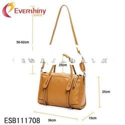 various colors new arrival fashion design pu leather bag