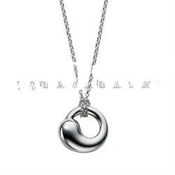 wholesale fashion 925 sterling silver brand necklaces