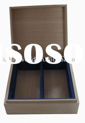 wooden box for gift packaging