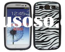 zebra silicone case for samsung s3 i9300 hot selling