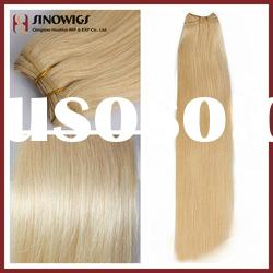 100% Chinese remy hair weft,hair weaving top quality factory price