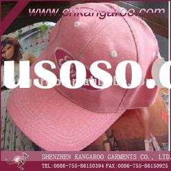100%cotton twill baseball cap with embroidery