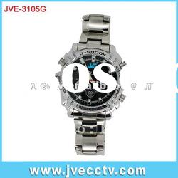 1080P IR HD Mini Hidden Video Waterproof Watch dvr ;Camera digital Recorder JVE-3105G
