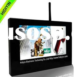 """10"""" Shelf mounted Wifi advertising display for supper market, LCD digital signage"""