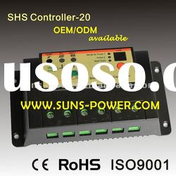 12/24V PWM Solar Charge Controller 20A With CE RoHS ISO9001