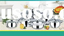 12pcs stainless steel cookware set,cooking pot set