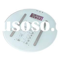 180kg/396lb electronic glass bathroom scale