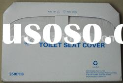 1/2 fold travel/disposable toilet seat cover paper