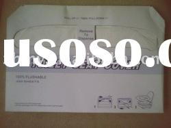 1/2 travel/ disposable toilet seat cover paper