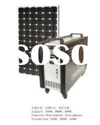 200 watt solar off grid system with good quality and price--solar generator