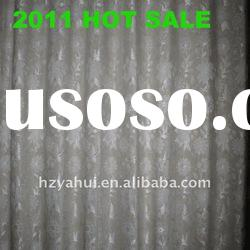 2011 New Linen Jacquard fabric for curtain fabric