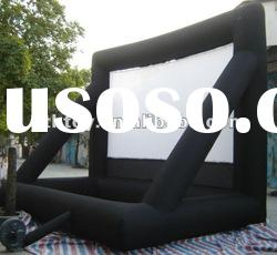 2012 HOT Exciting outdoor inflatable movie screen